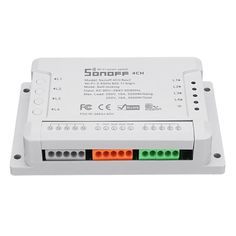 SONOFF® 4CH R2 4 Channel 10A 2200W 2.4Ghz Smart Home WIFI Wireless Switch APP Remote Control AC 90V-250V 50/60Hz Din Rail Mounting Home Automation Module Sale - Banggood.com App Share, App Remote, App Support, Countdown Timer, 4 Channel, Photography Camera, Home Automation, Smart Home, Mobile App