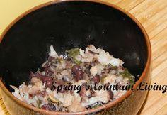 Veggie meal - kale, beans & rice