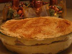 Vegagyerek: Karácsonyi reform tiramisú vegánosan Tiramisu, Pudding, Desserts, Food, Tailgate Desserts, Deserts, Custard Pudding, Essen, Puddings