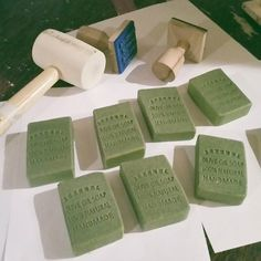 Stamping the soaps Make And Sell, How To Make, Retail Shop, Apothecary, Soaps, Aromatherapy, Stamping, Perfume, Natural