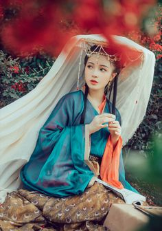 Traditional Chinese hanfu by 散兄