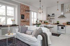Idee per mini appartamenti - Mini appartamento moderno