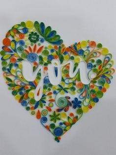 Colorful Heart - Unknown Quiller
