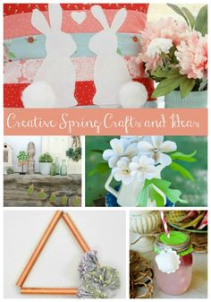 Welcome to Inspiration Monday Party! For as chilly because it has been, I'm craving Spring climate. Check out this weeks options This week's for Creative Spring Crafts and Ideas have been chosen by Meegan from What Meegan Spring Projects, Spring Crafts, Diy Projects, Copper Decor, Flower Making, Diy Paper, Paper Flowers, Diy Gifts, Easy Diy
