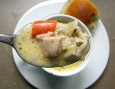 Creamy Chicken and Wild Rice Soup!!! So dreamy!!