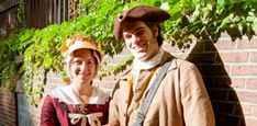 Boston's most popular visitor attraction, the Freedom Trail, is a walk-through-history trail.