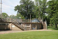 Pontiac IL, Camp Humiston Pool, Wesley Bintz Pool, Chautauqua Park , Pontiac Illinois, Livingston  County IL by Tourismguy, via Flickr