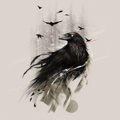 raven art - Google Search