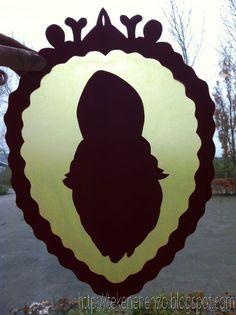 Tekenen en zo: Silhouet van Sinterklaas