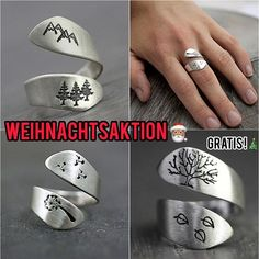 Massage Tips, Homemade Gifts, Rings For Men, Silver Rings, Bling, Womens Fashion, Inspiration, Beauty, Style