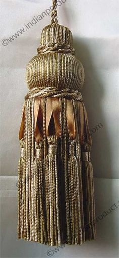 Beautiful tassel...: