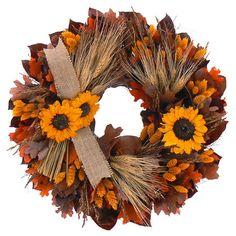 """18"""" Autumn Inspiration Wreath"""