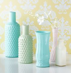 Valspar Milk Glass Spray Paint is now available at Lowe's.