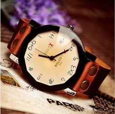 Stan vintage watches — Handmade Vintage Quartz Wristwatches (WAT0005-Champaign)