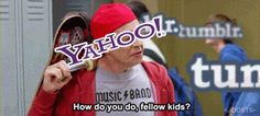 Yahoo buying tumblr for a billion summed up in one gif (GIF)