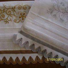 Havlularınız için havlu kenarı danteli
