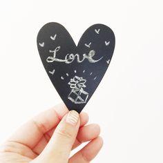 ハートがいっぱい / Valentine's Day via Simply Happiness Blog