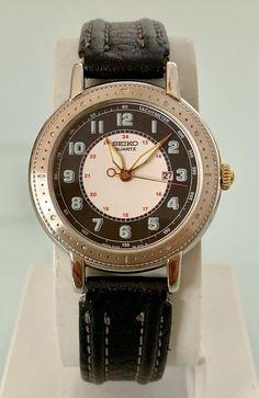 Women selection :) Reloj seiko Quartz Modelo 3Y02-0050 vintage Seiko 5 Military, Seiko Diver, Rolex Watches, The Selection, Quartz, Ebay, Stuff To Buy, Accessories, Women