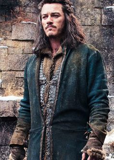 """ Luke as Bard the Bowman in 'The Hobbit: The Battle of the Five Armies'. """