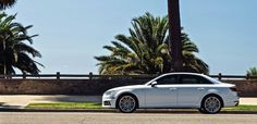 The advanced #AudiA4 is right at home on the streets of #SantaMonica.