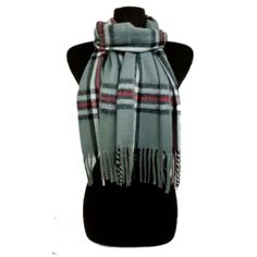 "Gray plaid fringe scarf Plaid fringe scarf. This is not an infinity scarf. Measures 60"" long and 13"" wide. Colors are light gray/ black/ white/ red. 80% acrylic/ 20% cotton. Very very slightly fuzzy. Availability- 2 Price is firm unless bundled. No trades⭐️This is a retail item. It is brand new either with manufacturers tags, boutique tags, or in original packaging. Boutique Accessories Scarves & Wraps"