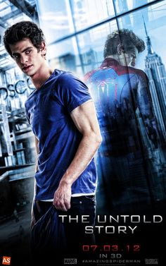 Amazing Spider Man 2 Poster Peter Parker Andrew... Oh so hot in this photo