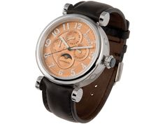 Mechanical watch, day, date, month, men size