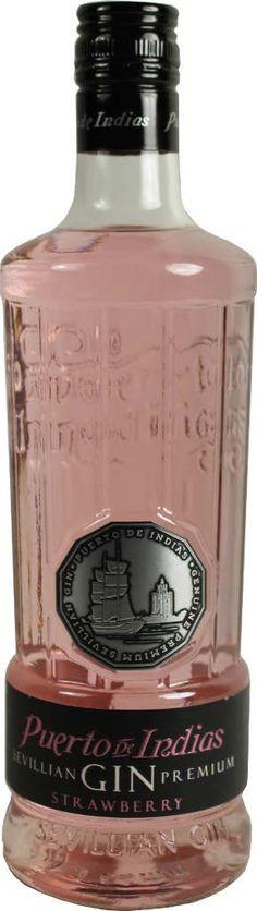 Gin von Puerto de Indias in der 0,7l Flasche mit 37,5% Vol.Alc.