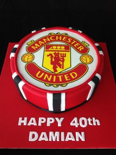 New birthday cake for men sports father 44 ideas 30th Birthday Cakes For Men, Soccer Birthday Cakes, New Birthday Cake, Soccer Cakes, Men Birthday, Football Birthday, Birthday Nails, Happy Birthday, Manchester United Birthday Cake
