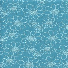 Asturias Panorama Bluebird Blue Floral Drapery Fabric by Swavelle Mill Creek