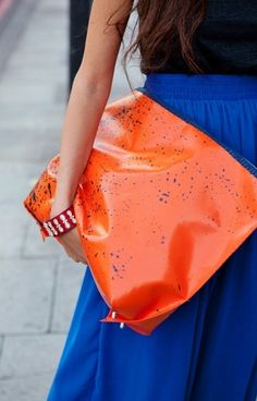 love the colors together and especially the skirt
