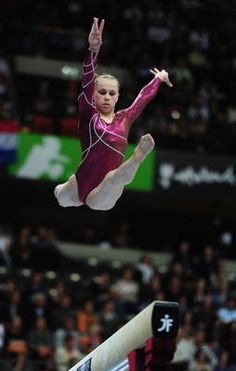 Rebecca Bross- 2010 World Championships Team Silver Medalist & is a 6 time World Medalist