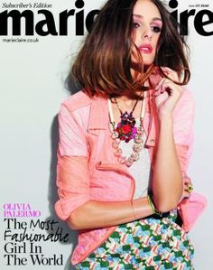 Olivia Palermo wearing Duo Knot Bracelet on Marie Claire Cover