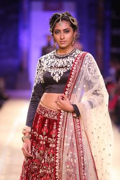 Lakme Fashion Week Anju Modi At LFW WF 2014
