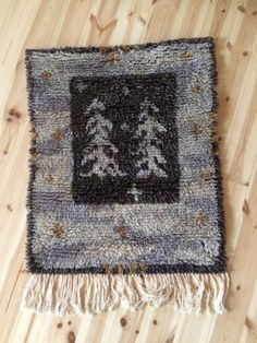 Ryijy Rya Rug, Weaving, Art Deco, Carpet, Blanket, Rugs, Wall, Design, Home Decor