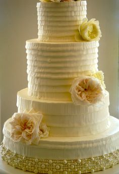 Wedding Cake by Jim Smeal  Buttercream!