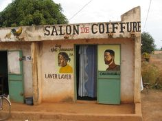 Senegal Hand Painted Signs, Store Signs, Public Art, All Over The World, Signage, Hand Lettering, Street Art, Sculptures, Shed