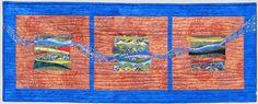 Debbie Langsam website -- fiber art and mosaic quilts
