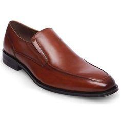 Steve Madden Men's Dwellr Loafer ($100) ❤ liked on Polyvore featuring men's fashion, men's shoes, men's loafers, brown, shoes, steve madden mens shoes, mens brown shoes, mens formal shoes, mens brown formal shoes and mens brown slip on shoes