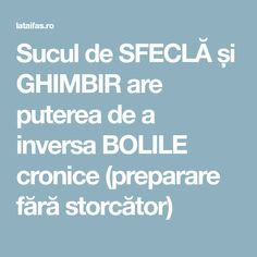 Sucul de SFECLĂ și GHIMBIR are puterea de a inversa BOLILE cronice (preparare fără storcător)