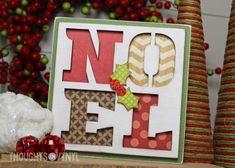 Noel Block  / wooden Christmas sign / order here