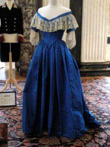 1840's ball gown