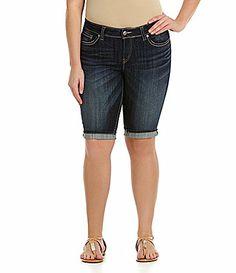 Silver Jeans Co. Woman Suki Cuffed Bermuda Shorts