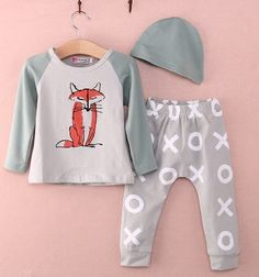New 3 pc Fox outfit $ 19.50