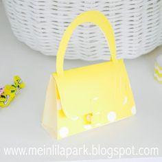 DIY paper purse : tutorial (+ printable template)