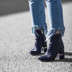 From @Beigerenegade Instagram - Minimal Life and Style Inspiration Source It's all about that feminine-masculine chunky boot. Hello @tibi Shop via http://liketk.it/2oSUC @liketoknow.it #liketkit
