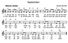 Kliknutím zavřít Children, Kids, Sheet Music, September, Songs, Education, Inspiration, Biblical Inspiration, For Kids