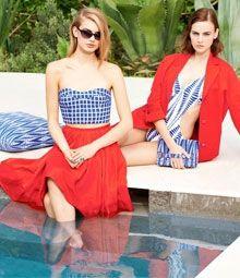 Look bleu, blanc, rouge   Dressing des Tendances sur Mafingue