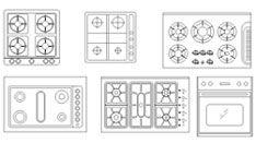 Cucine 2d Disegni Di Cucine In Dwg 1 Com Imagens