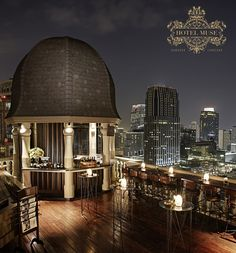 Hotel Muse Bangkok Langsuan, MGallery  Speakeasy on the rooftop